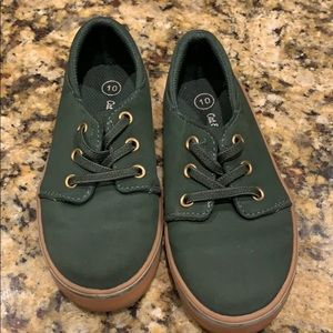 Other - Olive Green cat & Jack boys shoes